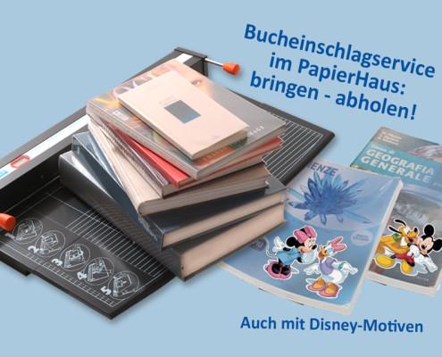 Einschlagservice Schulbücher