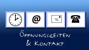 Öffnungszeiten und Kontakt Voss