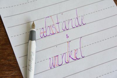 Kalligrafie_Abstände_und_Winkel