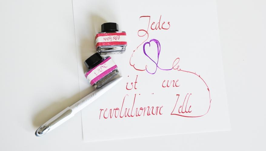 Kalligrafie_Jedes_Herz_ist_eine_revolutionäre_Zelle